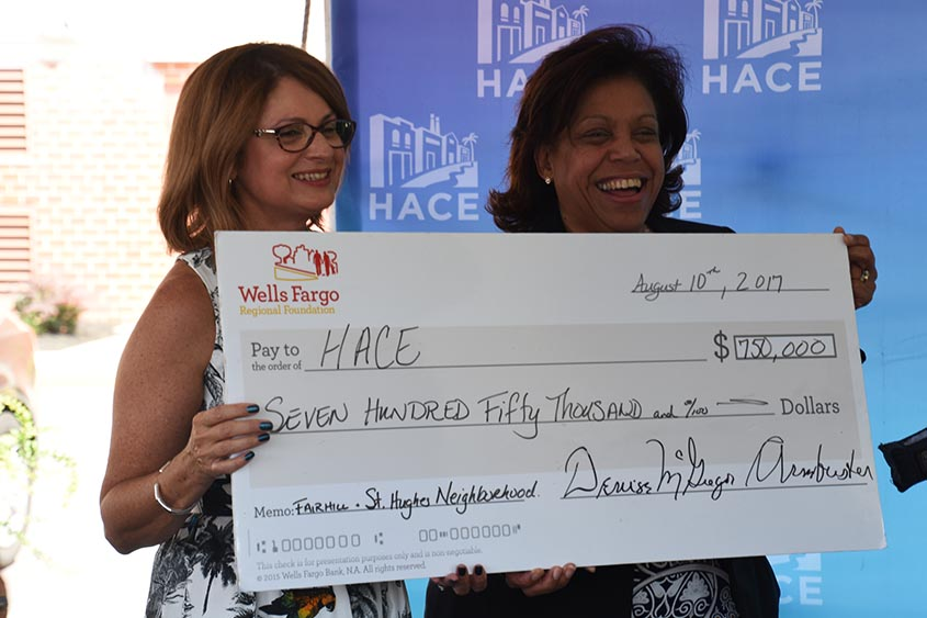 HACE receives $750,000 grant